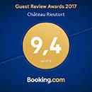 Booking.com Chambres d'hôte 9.4/10