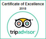 Tripadvisor, Attestation d'Excellence 2018